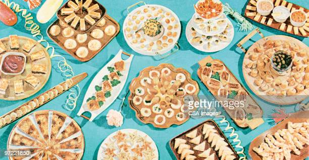 holiday treats - pastry dough stock illustrations, clip art, cartoons, & icons