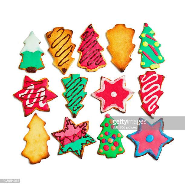 holidays cookies 2 - cookie stock illustrations, clip art, cartoons, & icons
