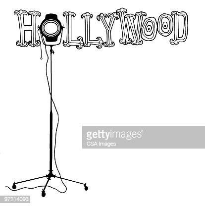 Hollywood Word Art High-Res Vector Graphic - Getty Images