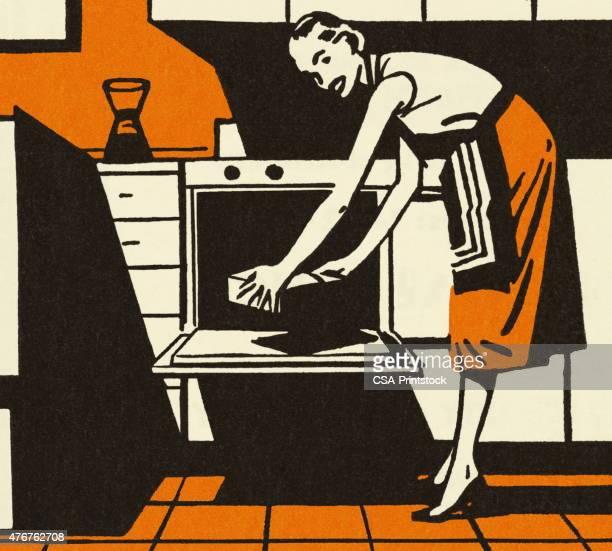 主婦業パッティンググリーン、パンのオーブン