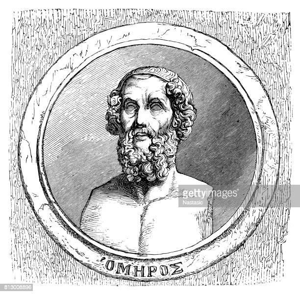 Homer- Ancient Greek poet