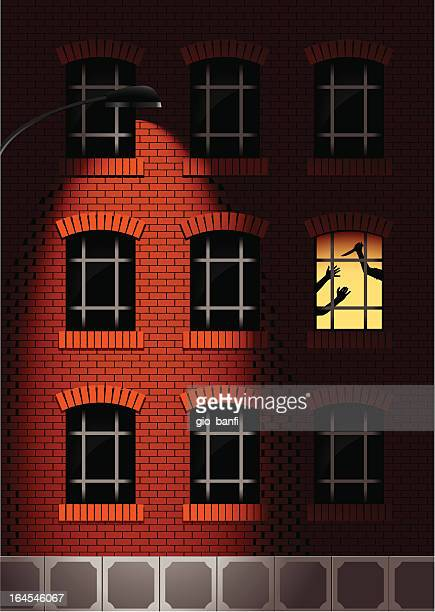 homicide - crime scene stock illustrations, clip art, cartoons, & icons