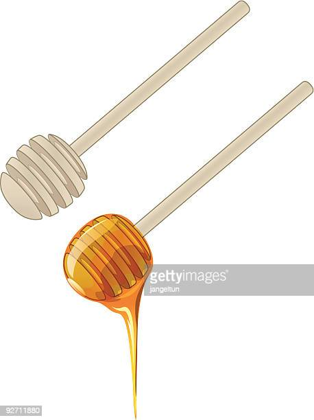 Honey wand