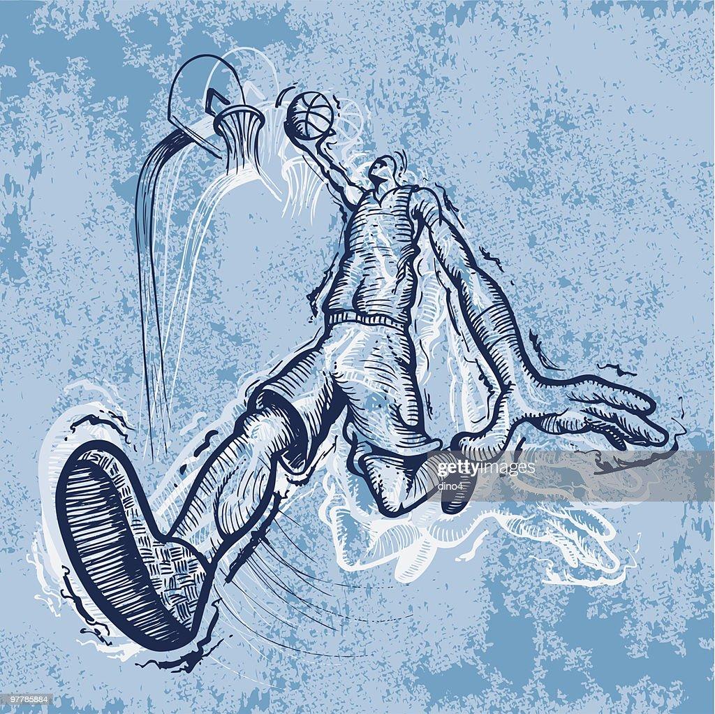 Hoop Dreams : stock illustration