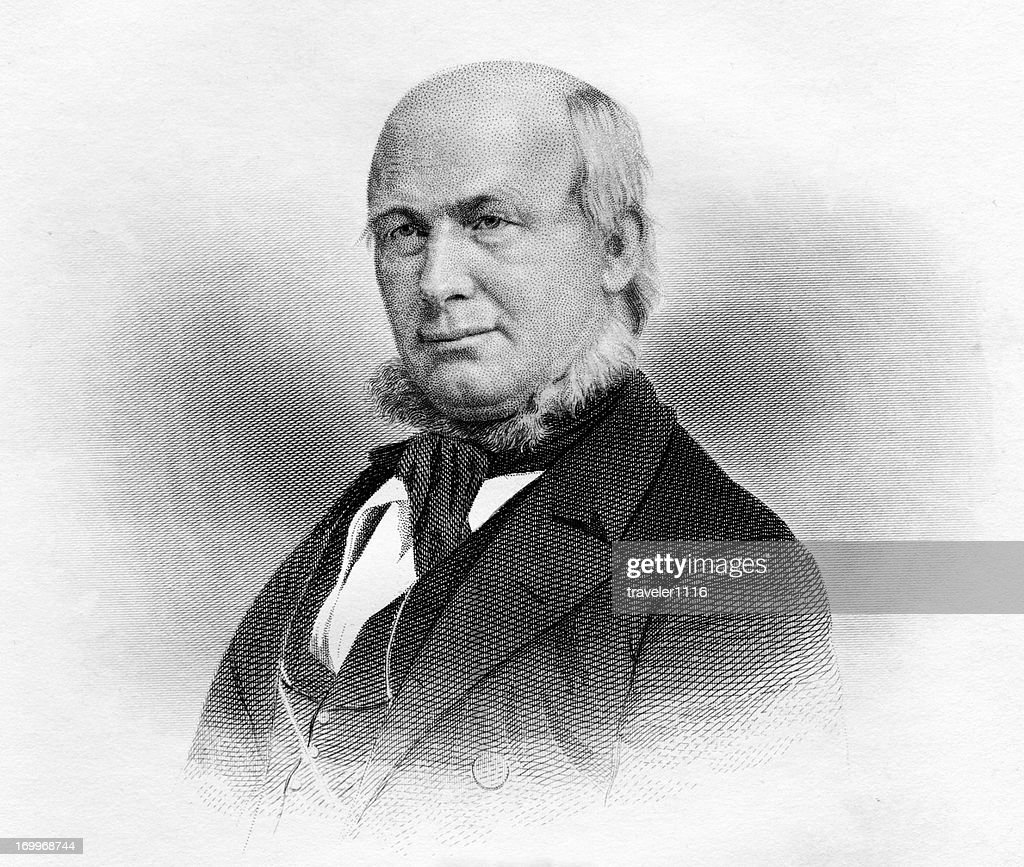 Horace Greeley : stock illustration