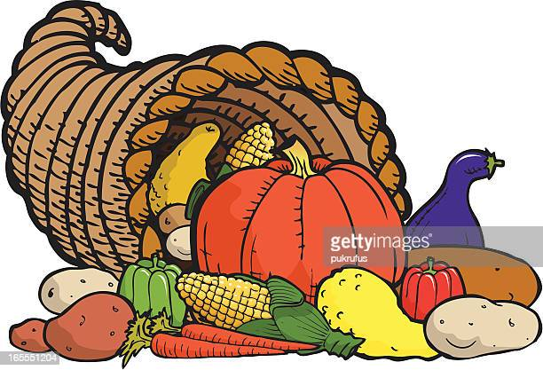 Horn of Plenty - Thanksgiving Symbol