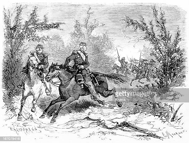 horse soldiers - cavalier cavalry stock illustrations, clip art, cartoons, & icons