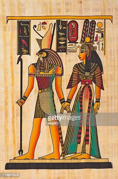 Horus y Nefertiti