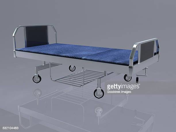 hospital bed used in occupational therapy for patient for rest. - occupational health stock illustrations, clip art, cartoons, & icons