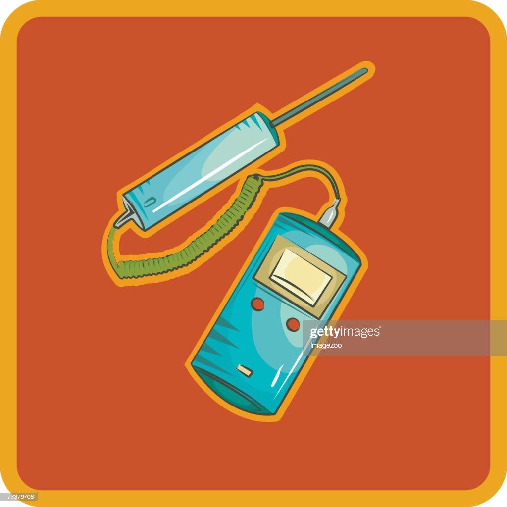 hospital thermometer : Illustration