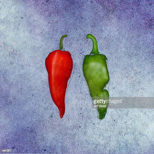 hot peppers on washed background - red chili pepper stock illustrations, clip art, cartoons, & icons