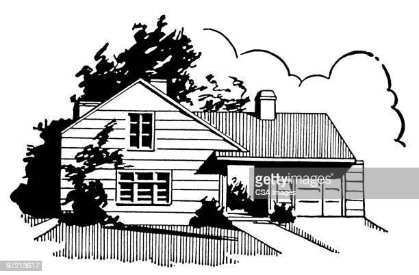 house - image stock illustrations