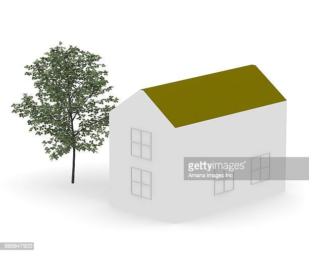 house, illustration - model to scale stock illustrations, clip art, cartoons, & icons