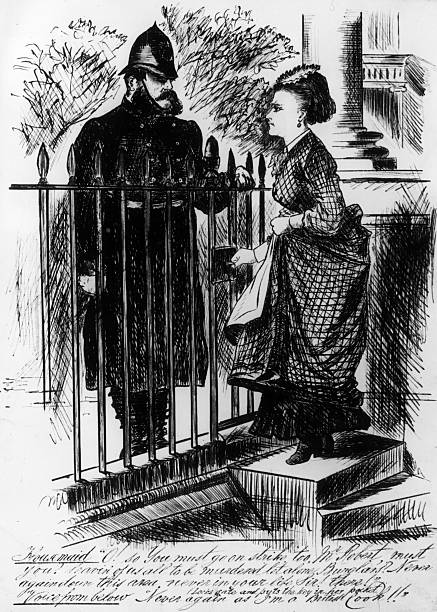 A housemaid voices her anger at the upcoming Metropolitan...