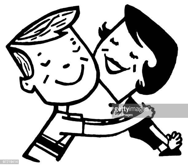 illustrations, cliparts, dessins animés et icônes de hug - impatient