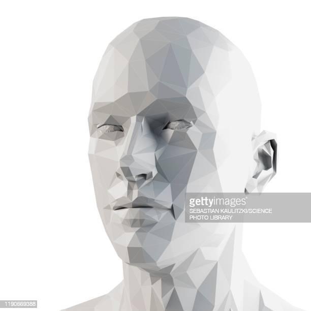 human head, illustration - menschlicher kopf stock-grafiken, -clipart, -cartoons und -symbole