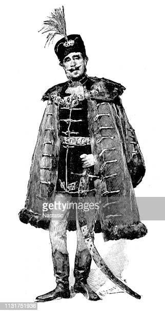 Hungarian magnate in 19th century