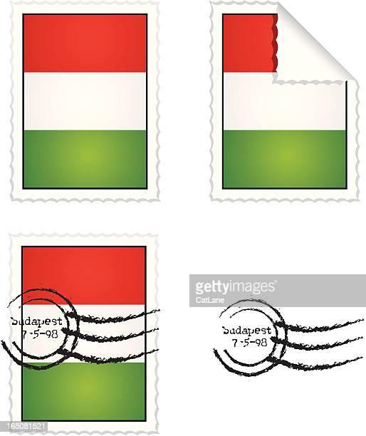 Hungarian Stamp Set