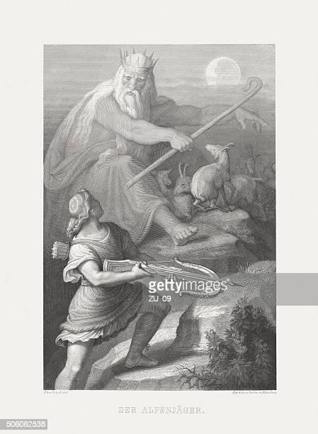 Caçador dos Alpes, Friedrich Schiller, publicada em 1869