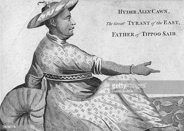 Hyder Ally Cawn or Haider Ali Prince of Mysore was known as the great tyrant of the East He was the father of Tippoo Sahib who carried on his...