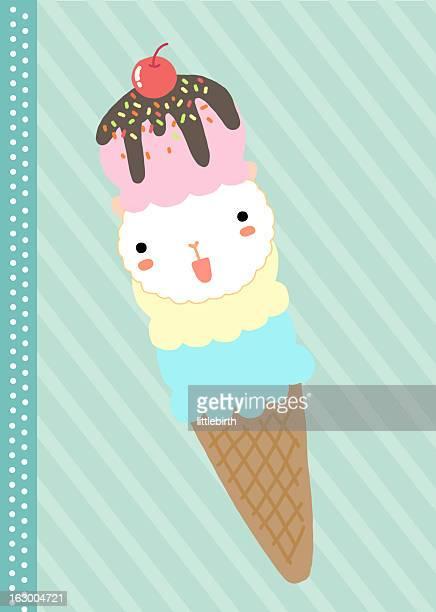 ilustrações, clipart, desenhos animados e ícones de ice cream - molho de chocolate