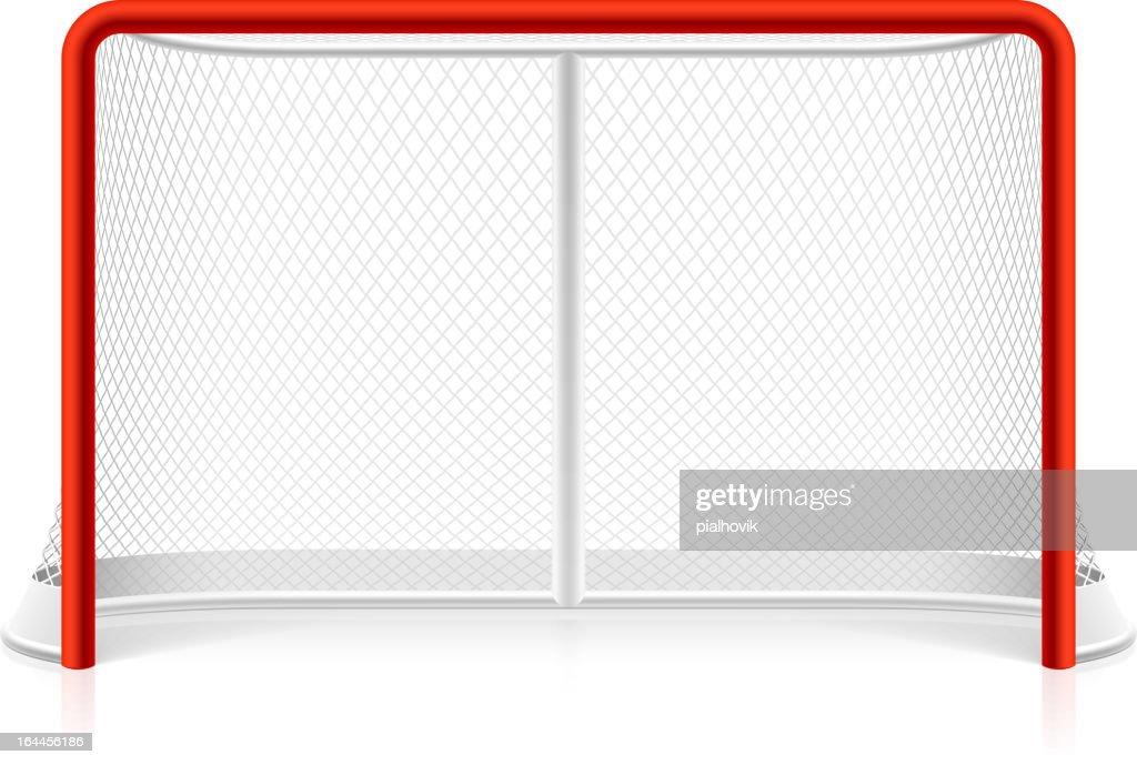 Ice hockey net