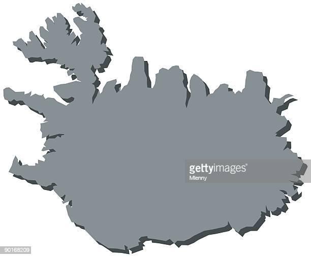 Iceland Europe Map