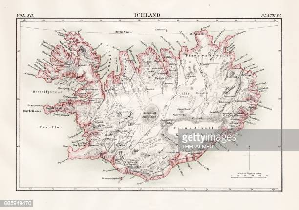 Iceland map 1881