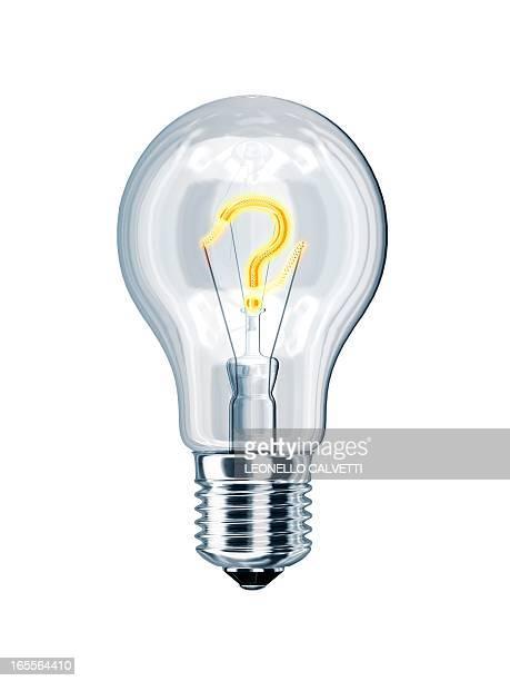 idea, conceptual artwork - question mark stock illustrations