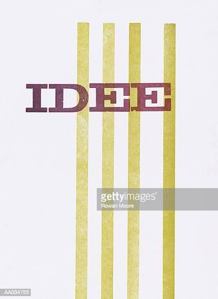 idee - idee stock illustrations