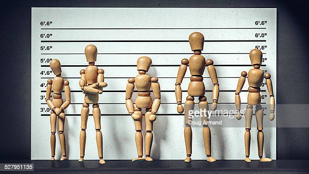 identity line up of artist mannequins - mannequin stock illustrations, clip art, cartoons, & icons