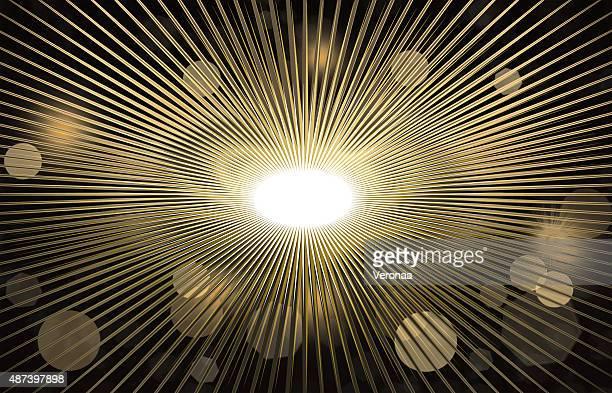 illuminated background lights - gala stock illustrations