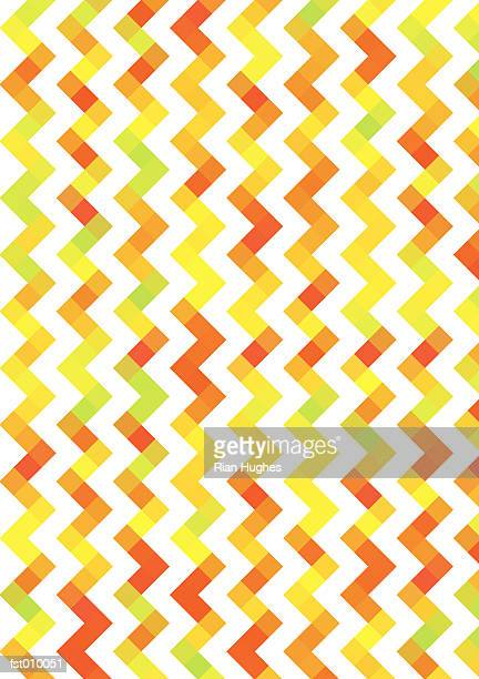 illustrated abstract pattern - zigzag stock illustrations, clip art, cartoons, & icons