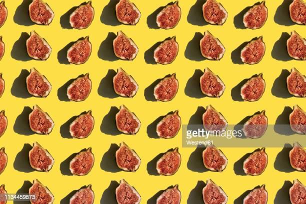 3d illustration, fig, pattern - food stock illustrations