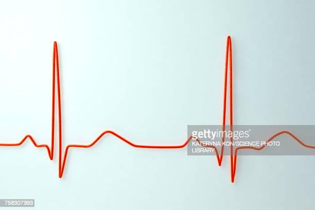 ecg, illustration - cardiologist stock illustrations