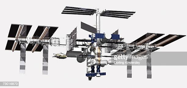 Illustration, International Space Station spacecraft.