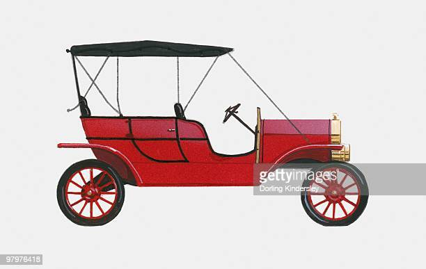 Illustration of 1910 Ford Model T