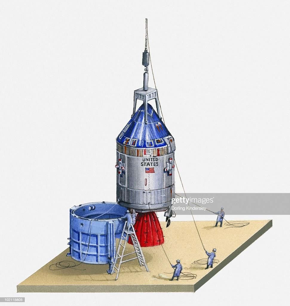 apollo spacecraft clipart - HD 971×1024