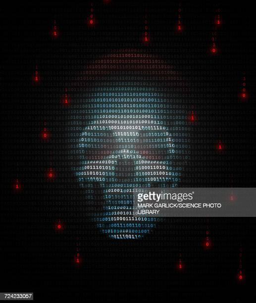 Illustration of Computer Virus or Trojan