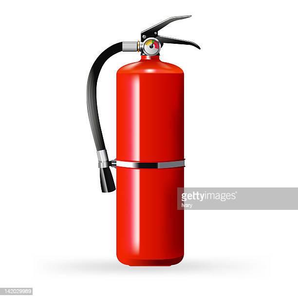 Illustration of fire extinguisher