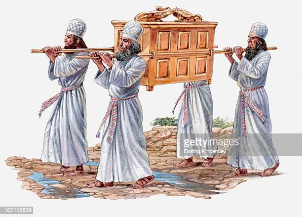 男性用 sarcophagus - 聖約の箱点のイラスト素材/クリップアート素材/マンガ素材/アイコン素材