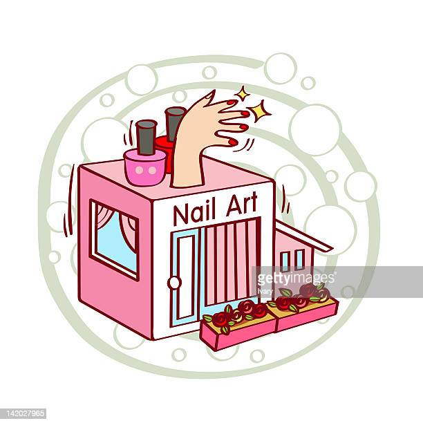 Nail Art Stock Illustrations And Cartoons | Getty Images