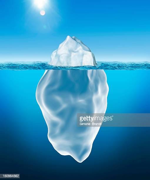 3D illustration of Iceberg