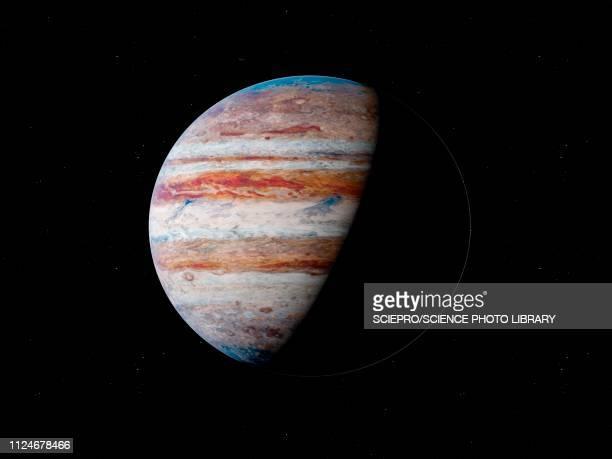 illustration of jupiter - jupiter planet stock illustrations
