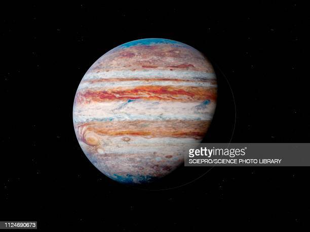illustration of jupiter - planet space stock illustrations