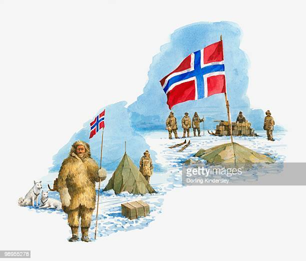 Photo 1900s Roald Amundsen