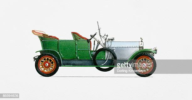 Illustration of Rolls-Royce Silver Ghost