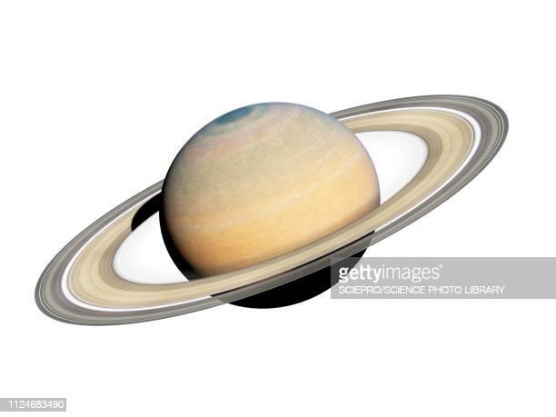 illustration of saturn - saturn planet stock illustrations
