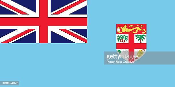 Illustration of the national flag of Fiji