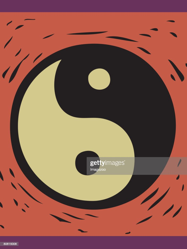 Illustration of the yin yang symbol vector art getty images illustration of the yin yang symbol vector art buycottarizona Choice Image